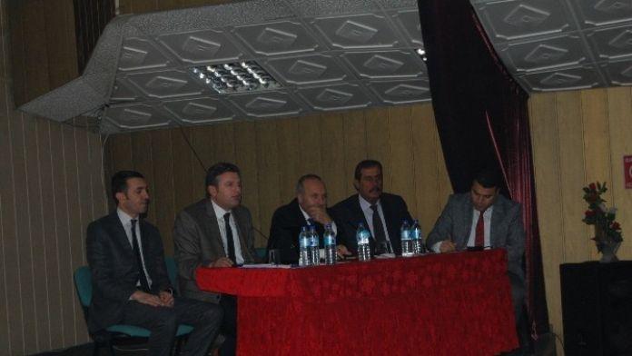 Bitlis Milli Eğitim Müdürü Korkmaz Güroymak'ta Okul Müdürleri İle Toplantı Yaptı
