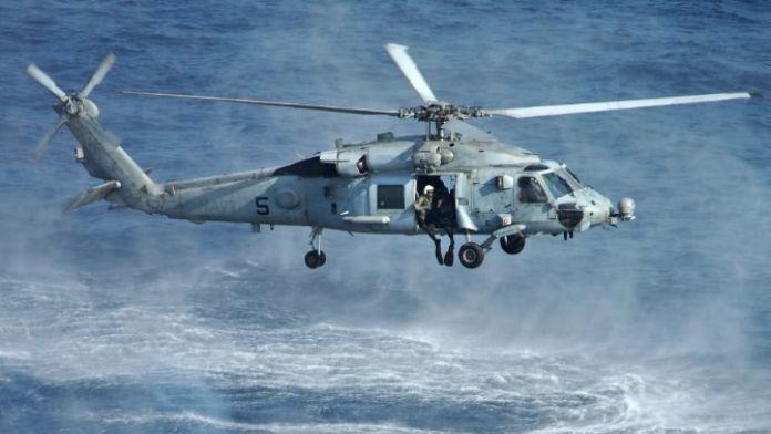 Yunan helikopteri düştü: 3 ölü