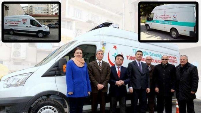 Eskişehir'e İkinci Aşı Nakil Aracı