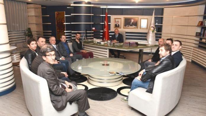 Dünya Şampiyonundan Başkan Mehmet Keleş'e Ziyaret