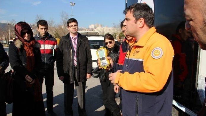 AFAD, Büyükşehir Çevre Ekiplerine Kbrn Eğitimi Verdi