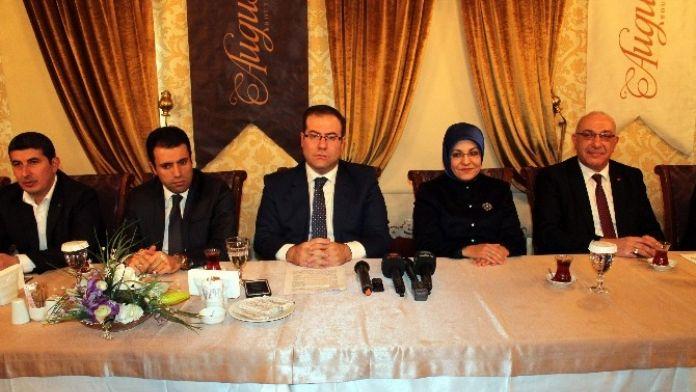 AK Parti Meram'ın Yeni Yönetimi Basına Tanıtıldı