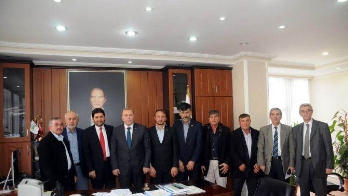 Derbent Belediye Başkanı Acar'dan DSİ'ye Ziyaret