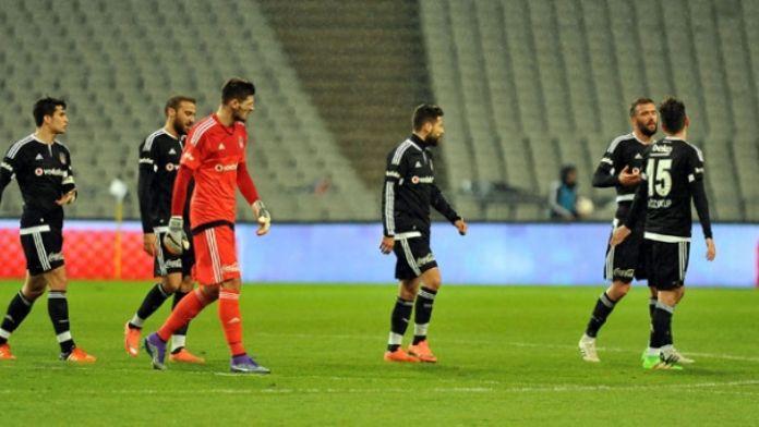 Beşiktaş kupada lig performansını aratıyor
