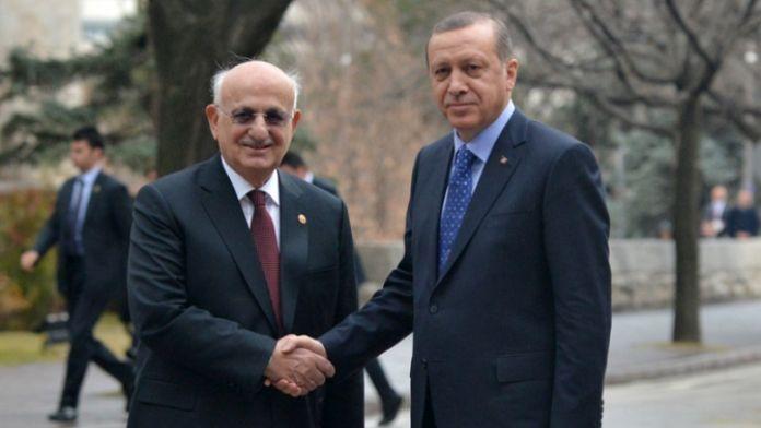 Cumhurbaşkanı Meclis Başkanını ziyaret etti