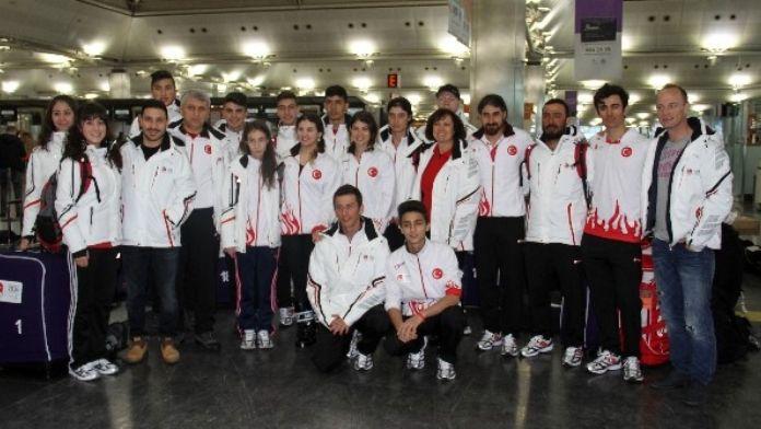 Milli Kafile Gençlik Kış Olimpiyatları İçin Yola Çıktı