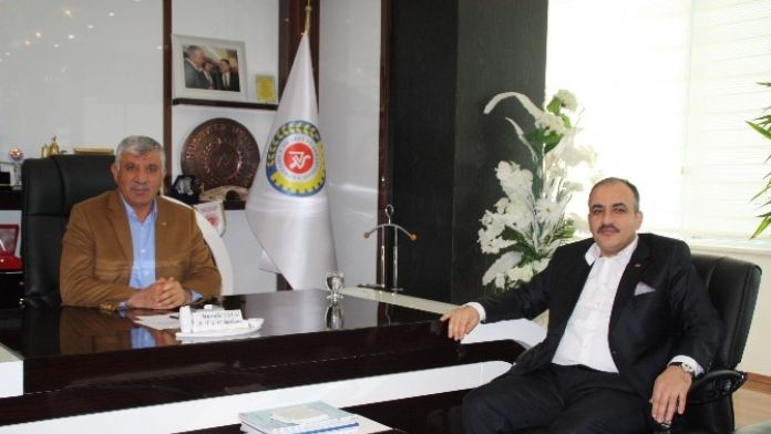 Türkiye Petrolleri Bölge Müdür Bütün ATSO'yu Ziyaret Etti