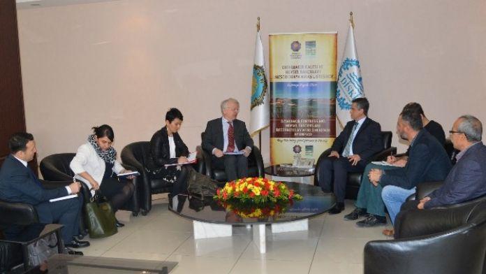 AB Türkiye Delegasyonu'ndan Eşbaşkanlara Ziyaret