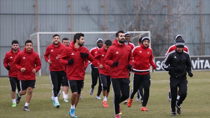 Gaziantepspor'da Akhisar Belediyespor maçı hazırlıkları