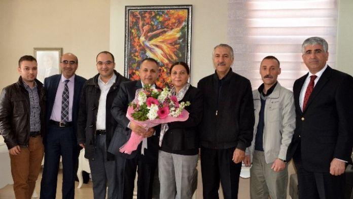 Elektrik Mühendisleri Odası'ndan Akdeniz Belediyesi'ne Ziyaret