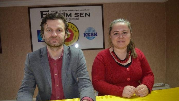 Eğitim Sen Eskişehir Şubesi Sekreteri Murat Yaman: