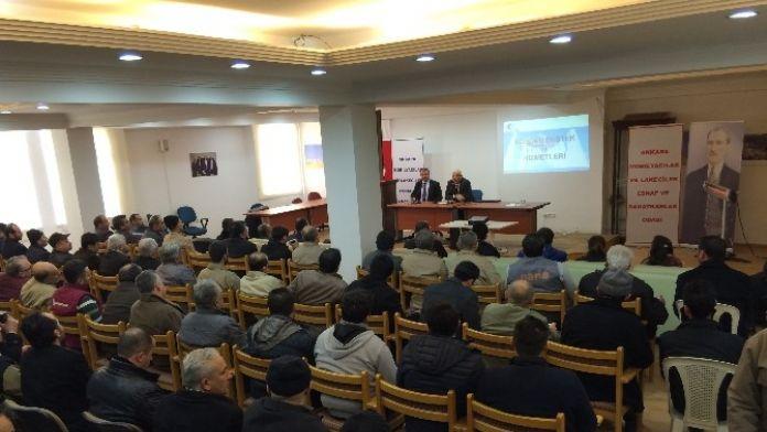Kos-gep'ten Siteler Esnafına Bilgilendirme Toplantısı