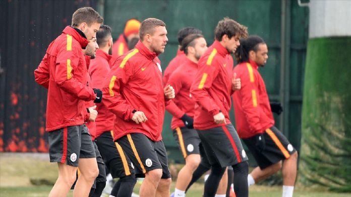 Galatasaray'da Mersin İdmanyurdu maçı hazırlıkları