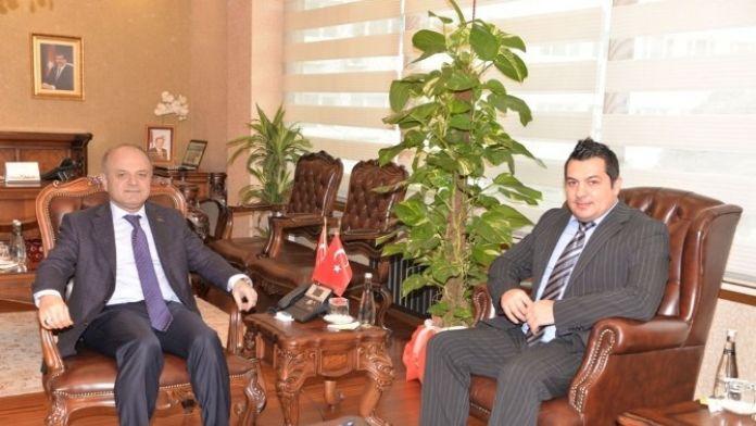 Makedonya İstanbul Başkonsolosluğu Konsolosu Dukoskı Mersin'de
