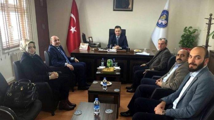 AK Parti'den Kyk'ya Ziyaret