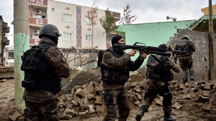 Sur'da PKK 'ya ağır darbe !