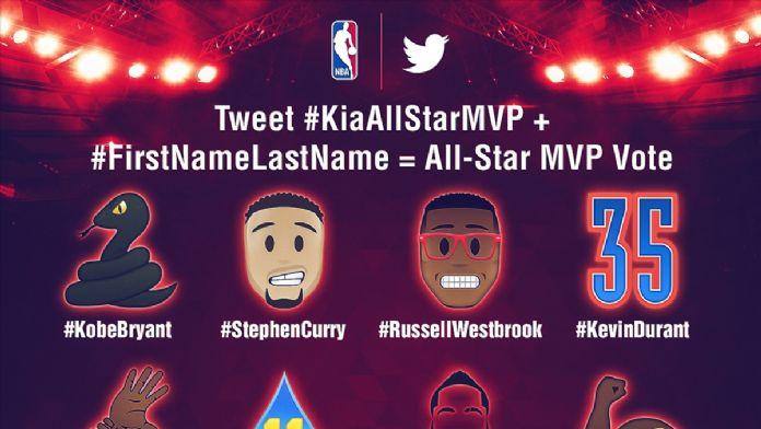 NBA'de MVP adaylarının emojileri belirlendi