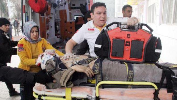 Şanlıurfa'da 6'ncı kattan düşen işçi ağır yaralandı