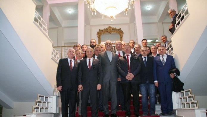 Menemen Ticaret Odası'ndan İran Büyükelçiliği'ne Ziyaret