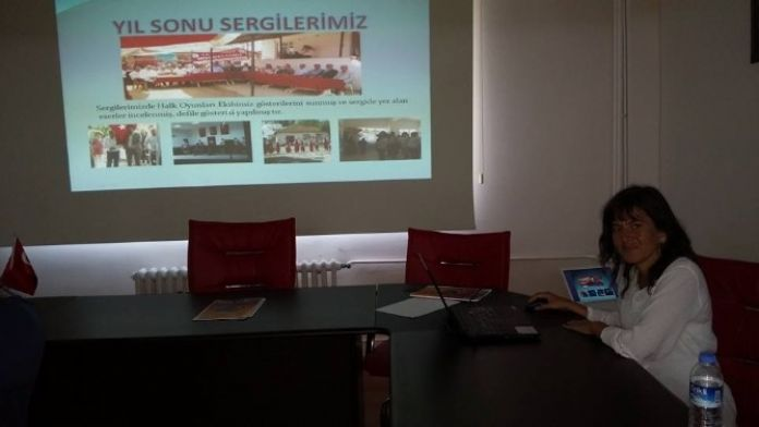 Lapseki'de Hayat Boyu Öğrenme Toplantısı
