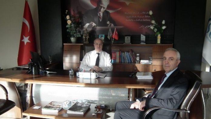 Ulusoy'dan Tümsek'e Ziyaret