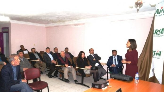 Sarıgöl'de Tarsim Bilgilendirme Toplantısı