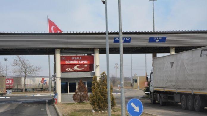 İpsala Sınır Kapısı kapatıldı