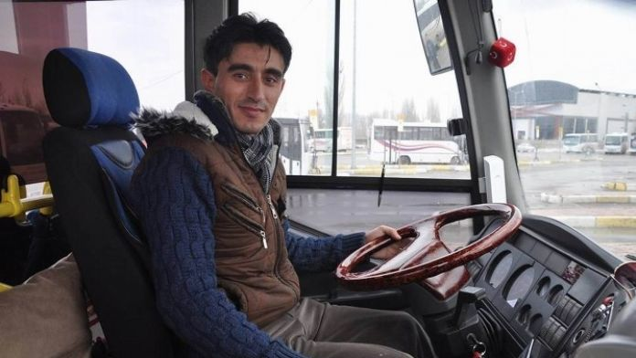Otobüs Şoföründen Örnek Davranış