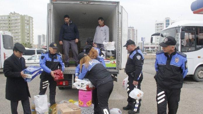 Mersinli Polis Eşleri Doğu Ve Güneydoğuya El Uzattı
