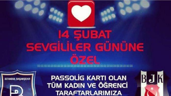 Medipol Başakşehir - Beşiktaş mücadelesi kadın ve öğrencilere ücretsiz
