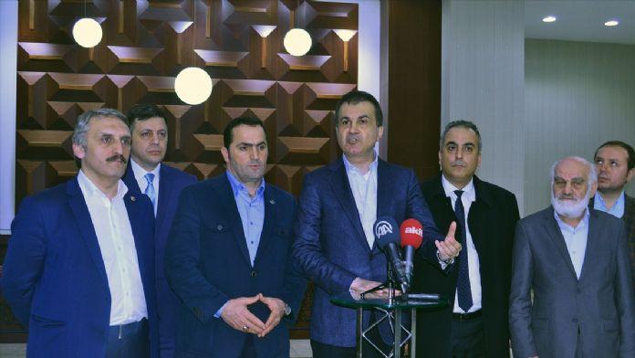 AK Parti Genel Başkan Yardımcısı ve Parti Sözcüsü Çelik: