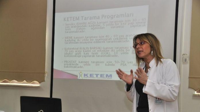 Mamak Belediyesi Kanser Seminerlerine Devam Ediyor