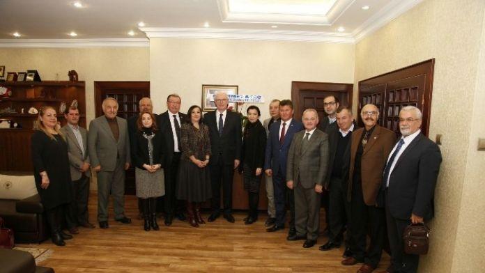 CHP Tepebaşı Meclis Üyeleri Odunpazarı'nda