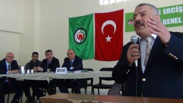 Yavuz Şahin Yeniden Başkan