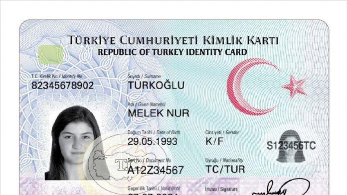 İşte yeni kimlik kartı