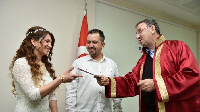 Mustafakemalpaşa'da 14 Şubat'ta Özel Nikah