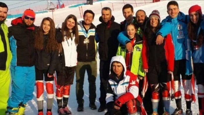 K1 Ve K2 Yarışlarına Erzurum Kayak Kulübü Damga Vurdu...