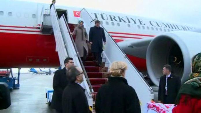 Başbakan Ukrayna'da