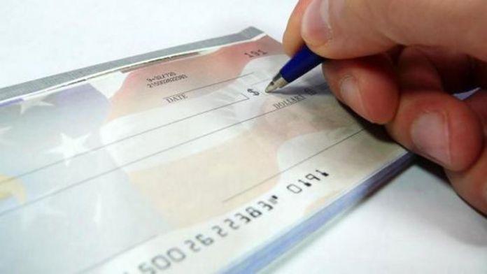 Bankalara ibraz edilen çek sayısında büyük düşüş
