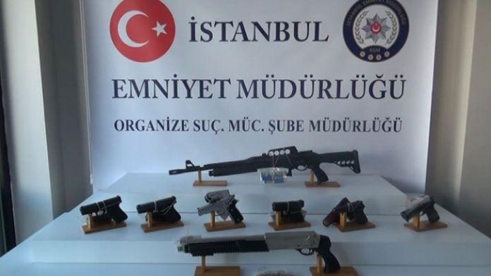İstanbul'da organize suç operasyonu: 11 gözaltı