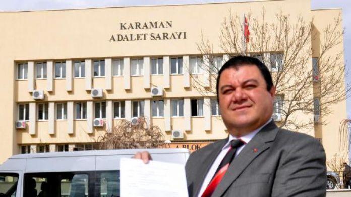 Karaman'da Kılıçdaroğlu hakkında suç duyurusu