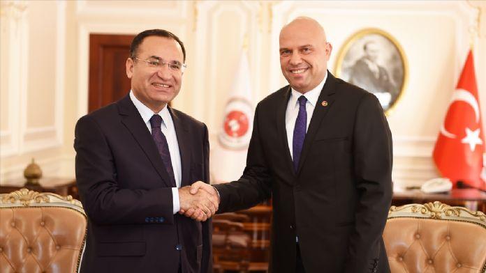 Adalet Bakanı Bozdağ'ın kabulü