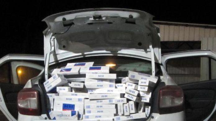 Düzce'de 8 bin 100 paket kaçak sigara ele geçirildi