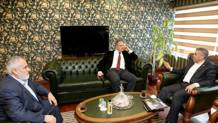 Erbakan Vakfı'ndan AA'ya ziyaret