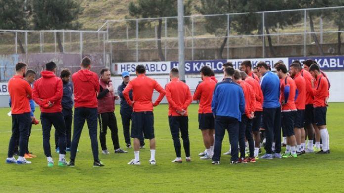 Galatasaray maçı hazırlıkları başladı