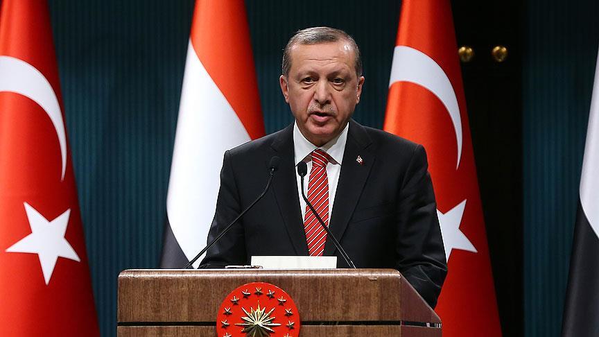 Erdoğan'dan Suriye çıkışı !