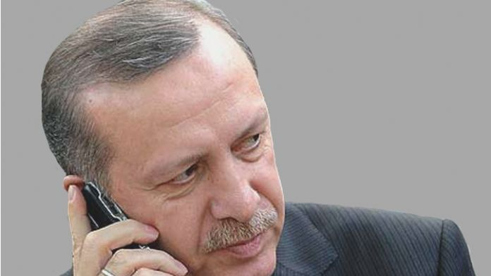 Suudi Arabistan Kralı ile telefonda görüştü