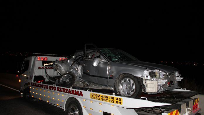 Muğla'da iki otomobil çarpıştı: 1 ölü, 2 yaralı