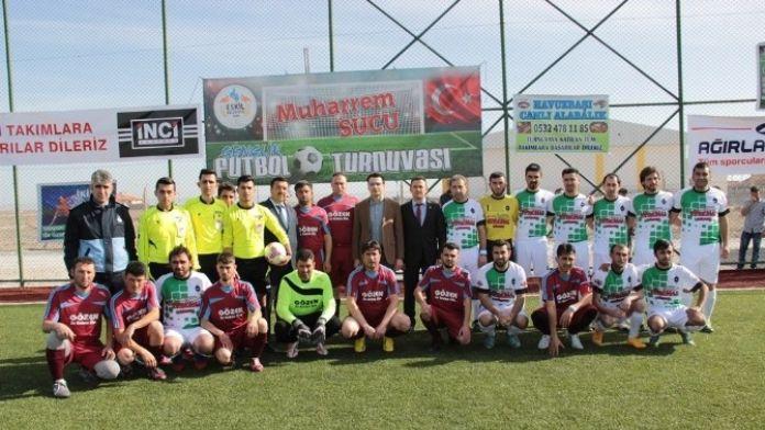Eskil'de 'Muharrem Sucu Futbol Turnuvası' Başladı