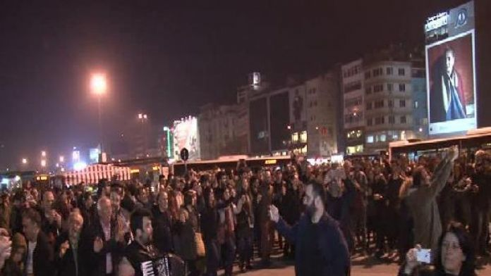 Istanbul in solidarity with Black Sea locals fighting mining efforts by police force